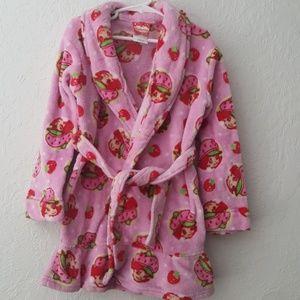 Girls Strawberry Shortcake robe 5